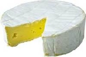 fine piece of buttery brie cheese