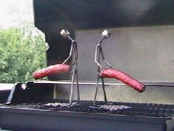 funny hot dog holders cookers