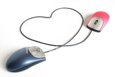 computer mouse with heart shape online dating