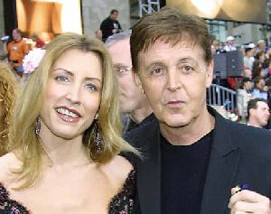 paul and heather mccartney