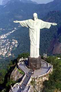 Brazil's Statue of Christ Redeemer