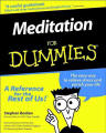 picture of book meditation for dummies