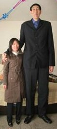 worlds tallest man finds bride
