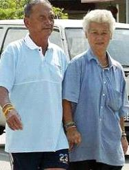 loving older couple